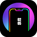 Edge Lighting Colors - Round Colors Galaxy icon