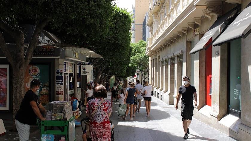 Almería es ya la cuarta provincia con más contagios de Andalucía.