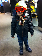 Photo: Ben hat schon mal den Helm an