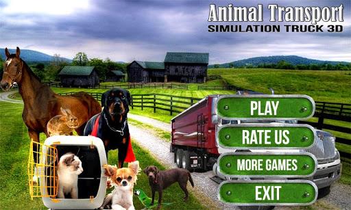 Animal Transport Truck 3D
