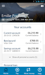 Barclays Mobile Banking - screenshot thumbnail
