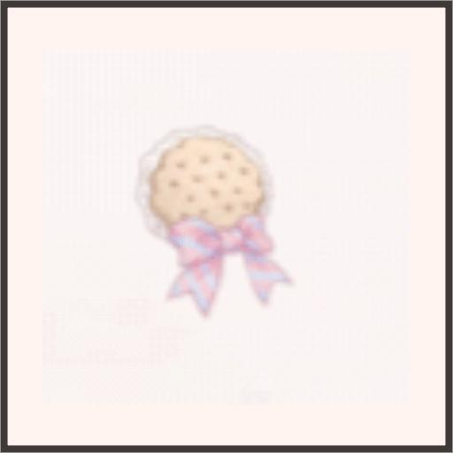 クッキーブローチ