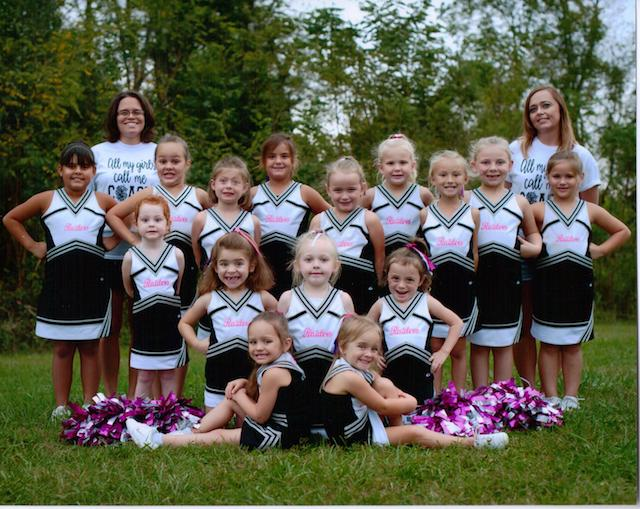 Jennifer's cheer squad