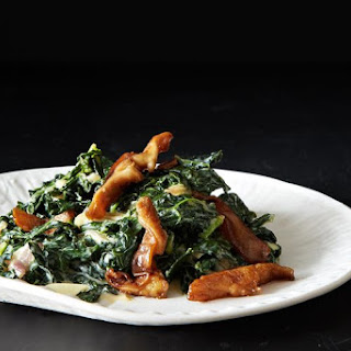 Trent Pierce's Miso-Creamed Kale.