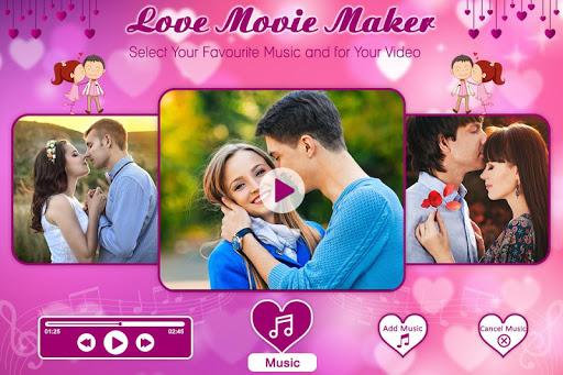Love Photo Video Maker with Music 1.3 screenshots 3
