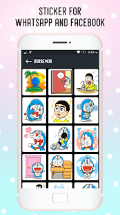 Stickers For WhatsApp & Facebook - emoji emotions