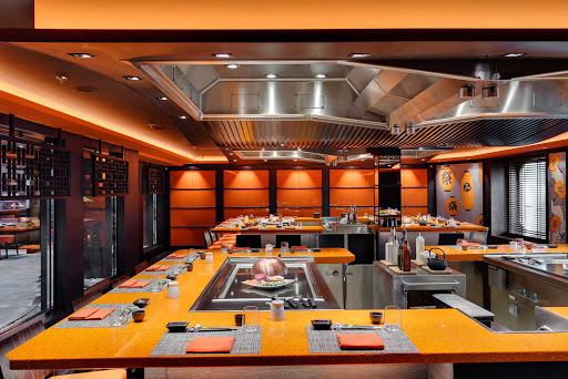 msc-meraviglia-teppanyaki.jpg -  On MSC Meraviglia, Kaito Teppanyaki offers authentic Asian cuisine, including sushi, prepared on the spot with fresh ingredients.