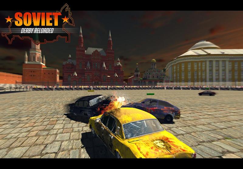 Скриншот Soviet Car Crash Derby Racing