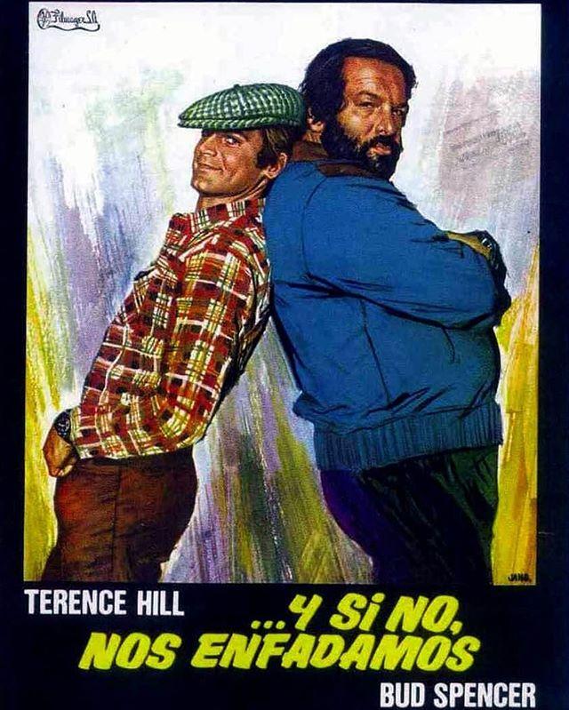Y si no, nos enfadamos (1974, Marcello Fondato)