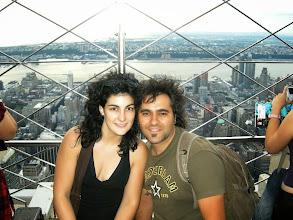 Photo: Con Nueva York a nuestros pies.