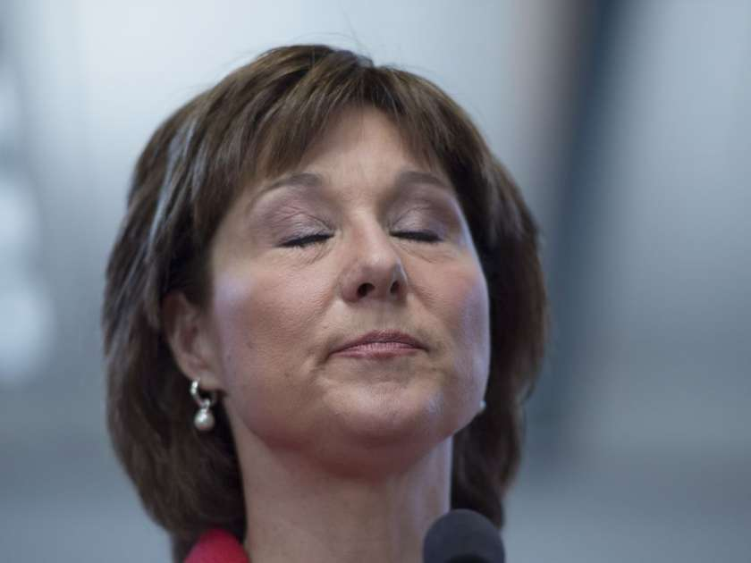 Premier Christy Clark issued an apology on Friday after falsely accusing the B.C. NDP of hacking the B.C. Liberal Party website.