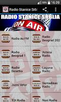 Screenshot of Radio Stanice Srbija