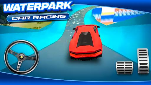 Waterpark Car Racing 1.0 screenshots 3