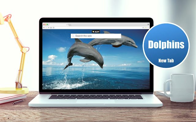 *NEW* HD Dolphins Wallpapers New Tab Theme