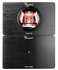 PHO-700 Front, Phone Preamplifier from Vincent Audio in the UK