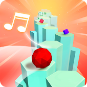 24.  Splashy Tiles: Bouncing to the Beat