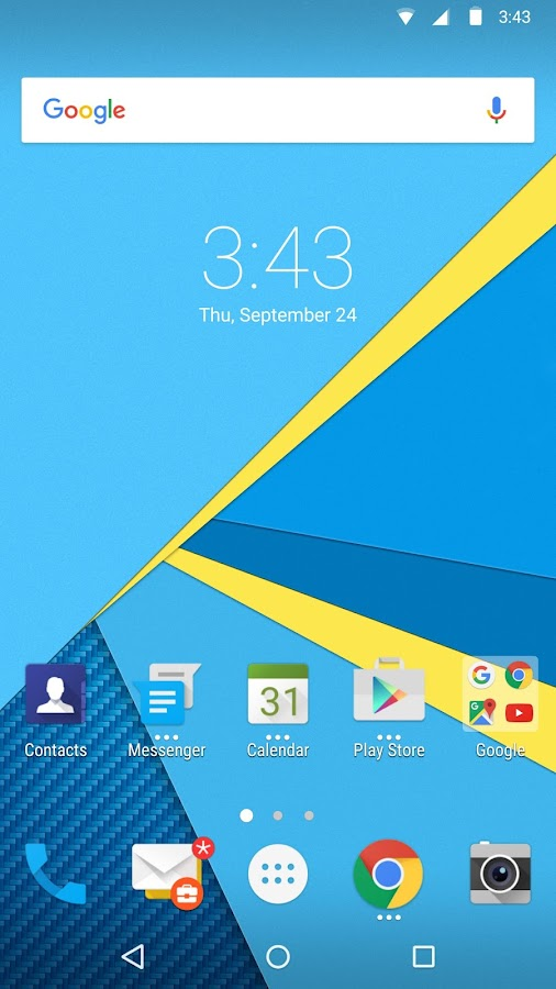 BlackBerry Launcher- screenshot