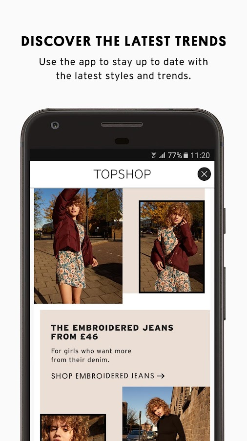 Topshop- screenshot