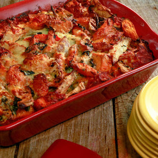Kelsey Nixon's Roasted Vegetable Lasagna.