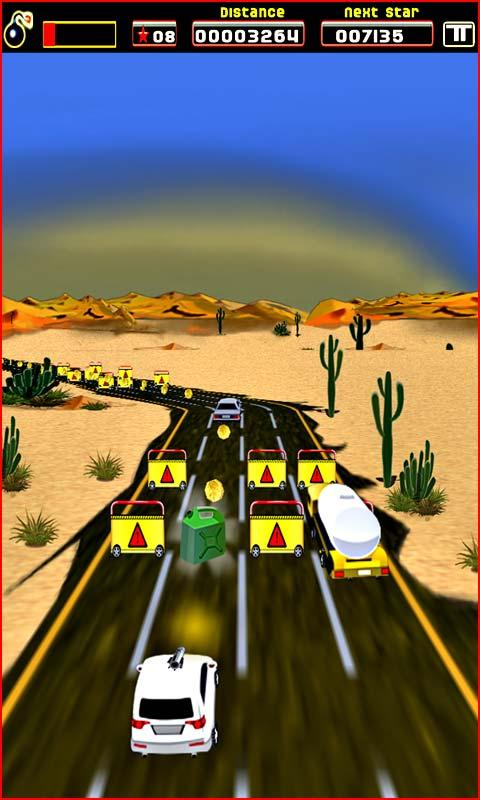 Sane Lane - car race- screenshot