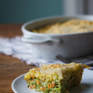 Zucchini Carrot Casserole.