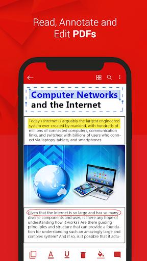 PDF Reader - PDF File Viewer 2019 1.3.8 screenshots 2