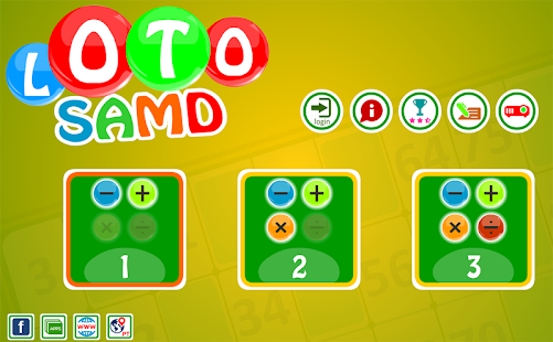 Loto SAMD, puzzle game.- screenshot thumbnail