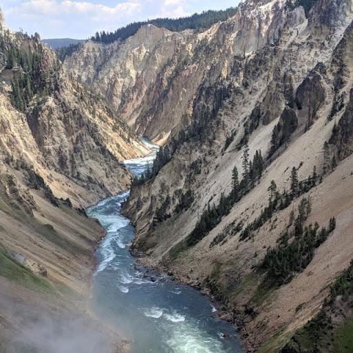 Visit Yellowstone National Park