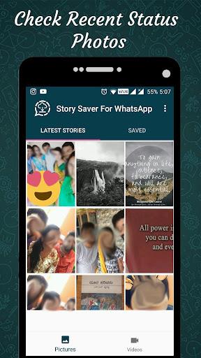 Status Saver for Whatsapp : Save Stories Images 1.12 screenshots 2