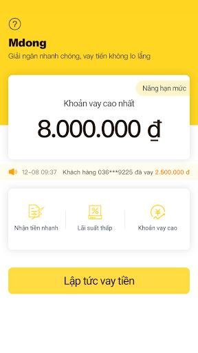 mdong-Vay Tiền Online screenshot 3