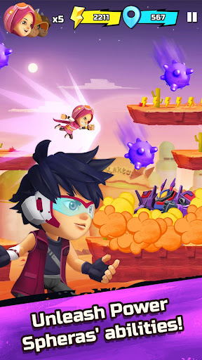 BoBoiBoy Galaxy Run: Fight Aliens to Defend Earth! 1.0.5d screenshots 3