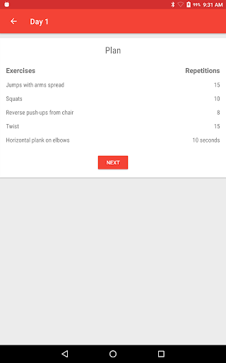Lose Weight In 21 Days - Home Fitness Workouts  screenshots 12