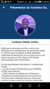 Fondateur Daniel ACKAH - náhled