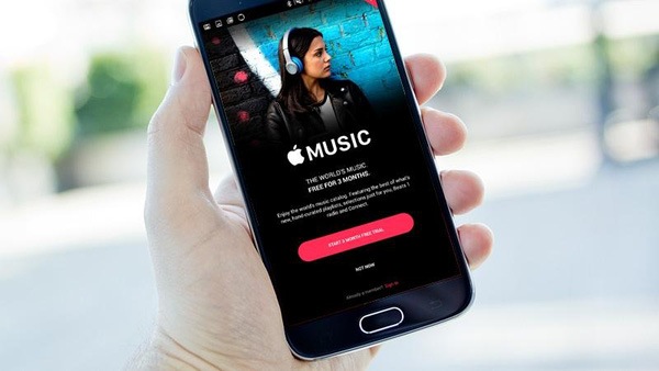 Ứng dụng Apple Music cho Androi