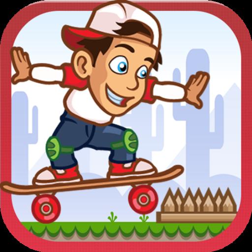 史蒂芬滑板冒险 冒險 App LOGO-硬是要APP