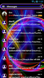 SMS Messages Neon Multi Theme 10.0 Latest MOD Updated 3