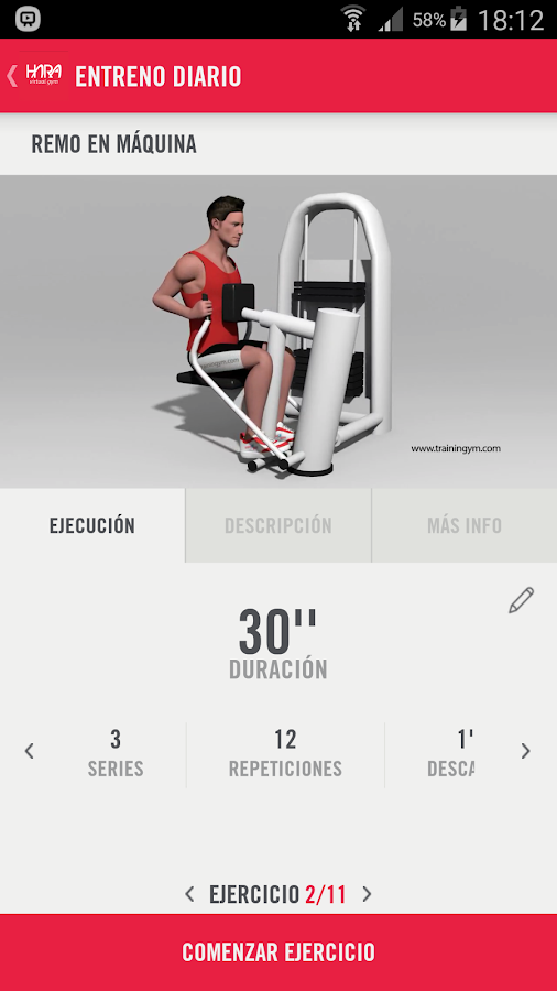 Hara Virtual Gym- screenshot