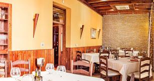 Fotografía del interior del restaurante.