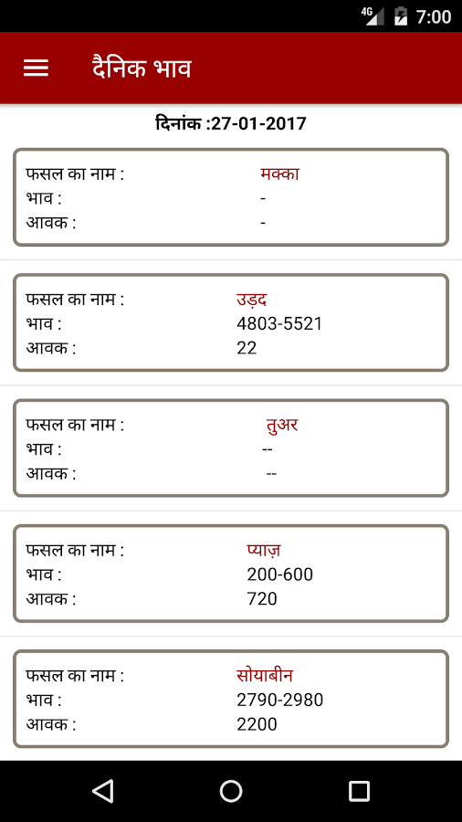 Krishi Mandi Jaora- screenshot