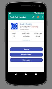 Qash Coin Market - náhled