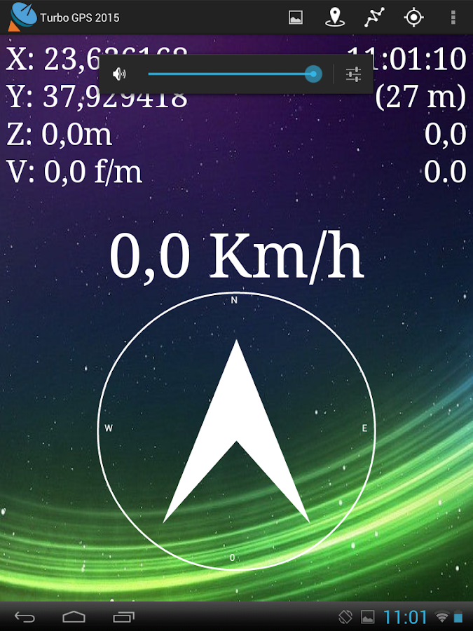 Turbo GPS 2015- screenshot