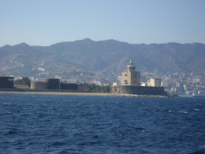Photo: Messina liman feneri.    The light house at the Messina harbor.