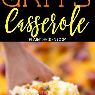 Cracked Out Grits Casserole
