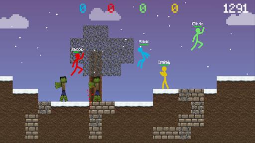 Stickman vs Multicraft: Survival Craft Pocket modavailable screenshots 2