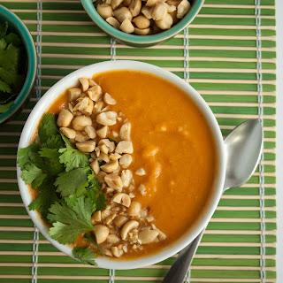 Curried Butternut Squash Peanut Butter Soup Recipes