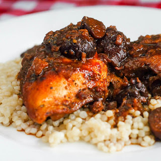 Slow Cooked Moroccan Chicken with Mission Figs Recipe