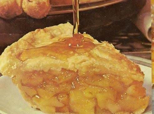 American Maple Apple Pie Recipe