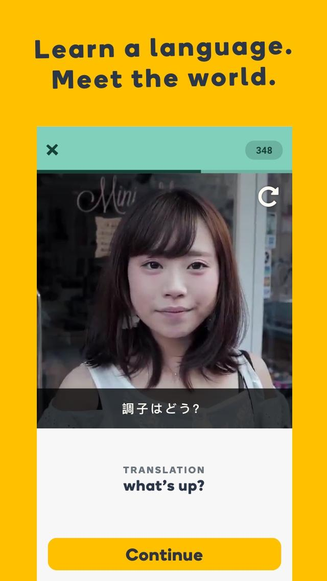 Learn Languages with Memrise Screenshot 0