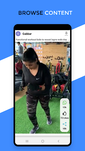 Basanti - India's Next TikTok and viral desi video screenshots 3