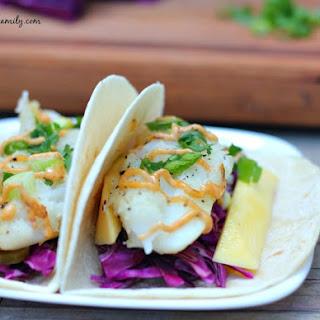 Caribbean Fish Tacos.